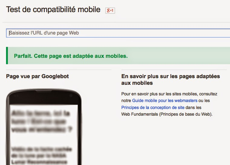 Ranker sur mobile à partir du 21 avril en rendant son site mobile friendly