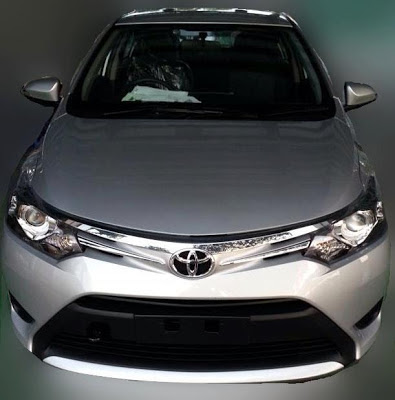 Gambar Model Terbaru Toyota Vios 2013 lebih gempak !!