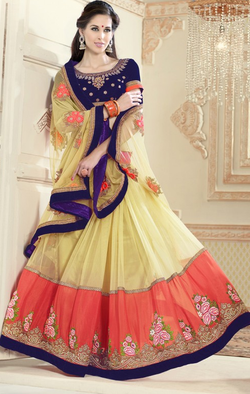 Designer lehenga sarees