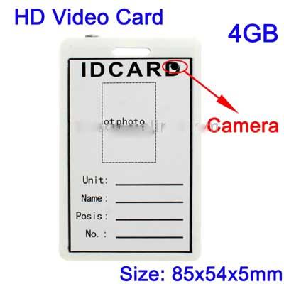 Spy ID Card Template