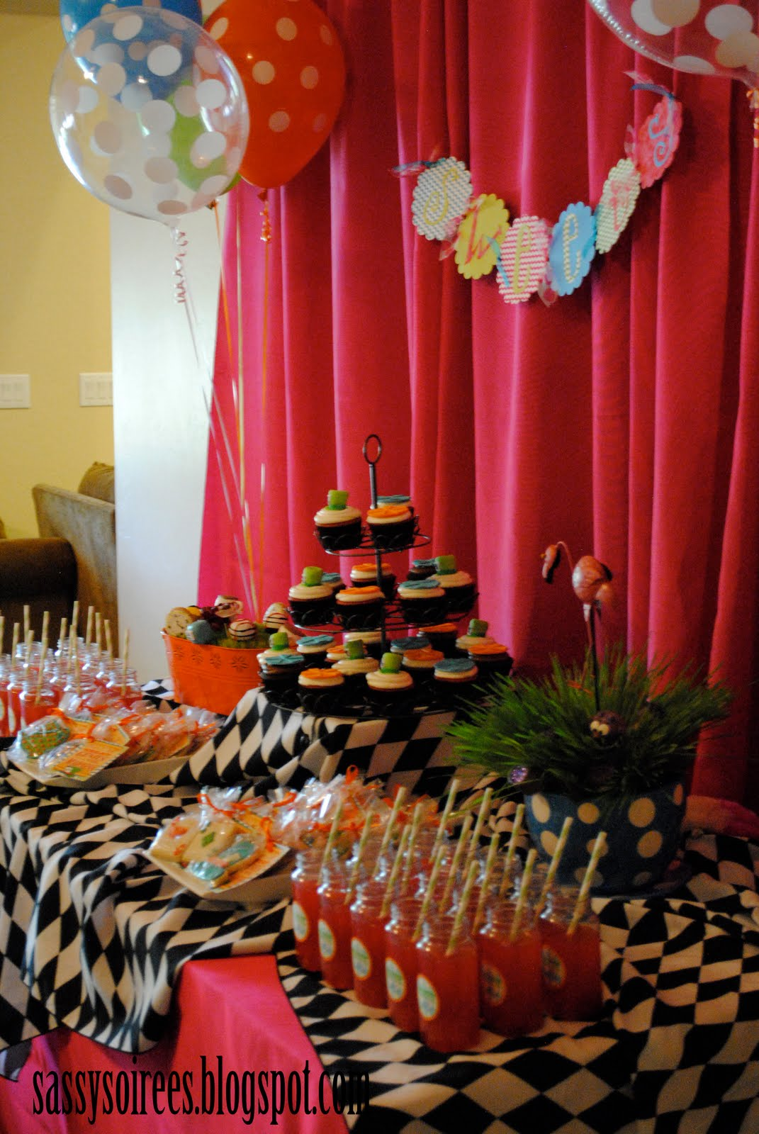Mad Hatter Baby Shower Style With Nancy