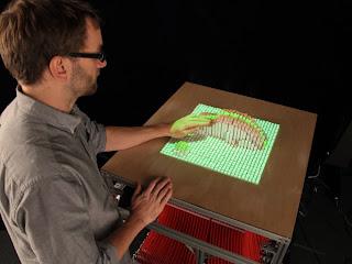 Dispositivo de Moldeado Dinámico (Dynamic Shape Display)