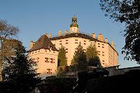 Castle Ambras near Innsbruck in Tyrol Austria