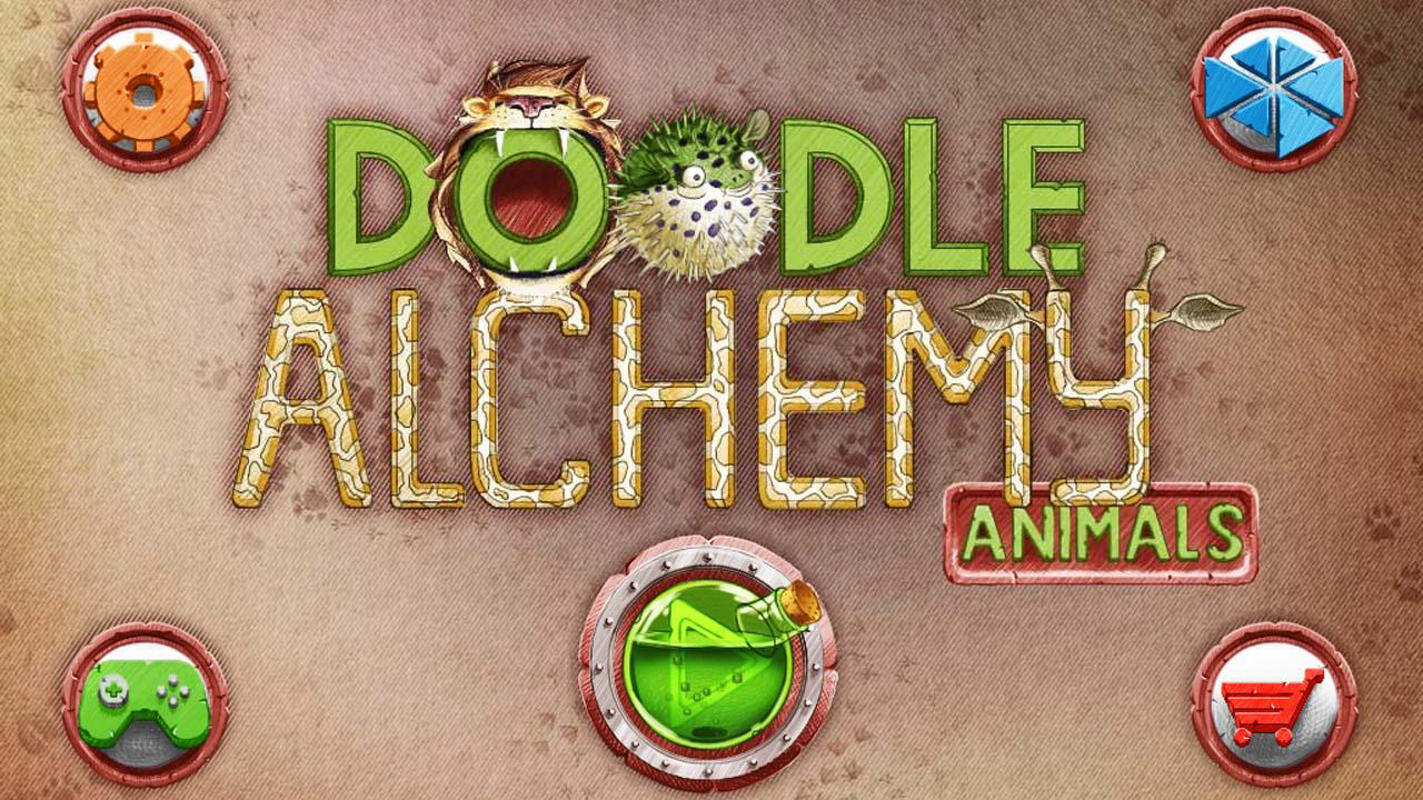 Doodle Alchemy Animals Gameplay IOS / Android