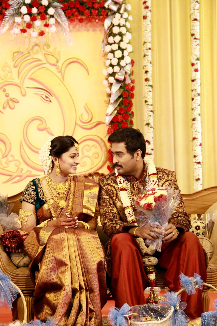 Exclusive Sneha Prasanna Wedding Reception Pictures