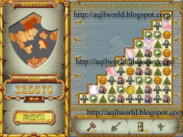free download Pillars of Hercules Puzzle Game