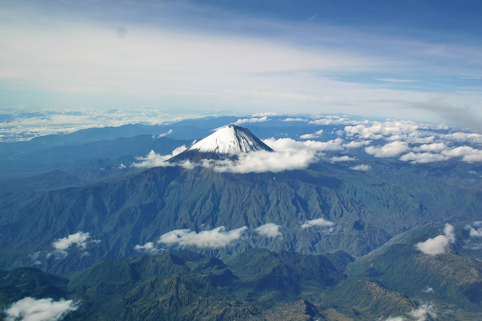 Yet another Ecuador volcano...Sangay showing an increase in activity along with Tungurahua and....