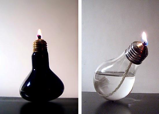 lampada a oleo