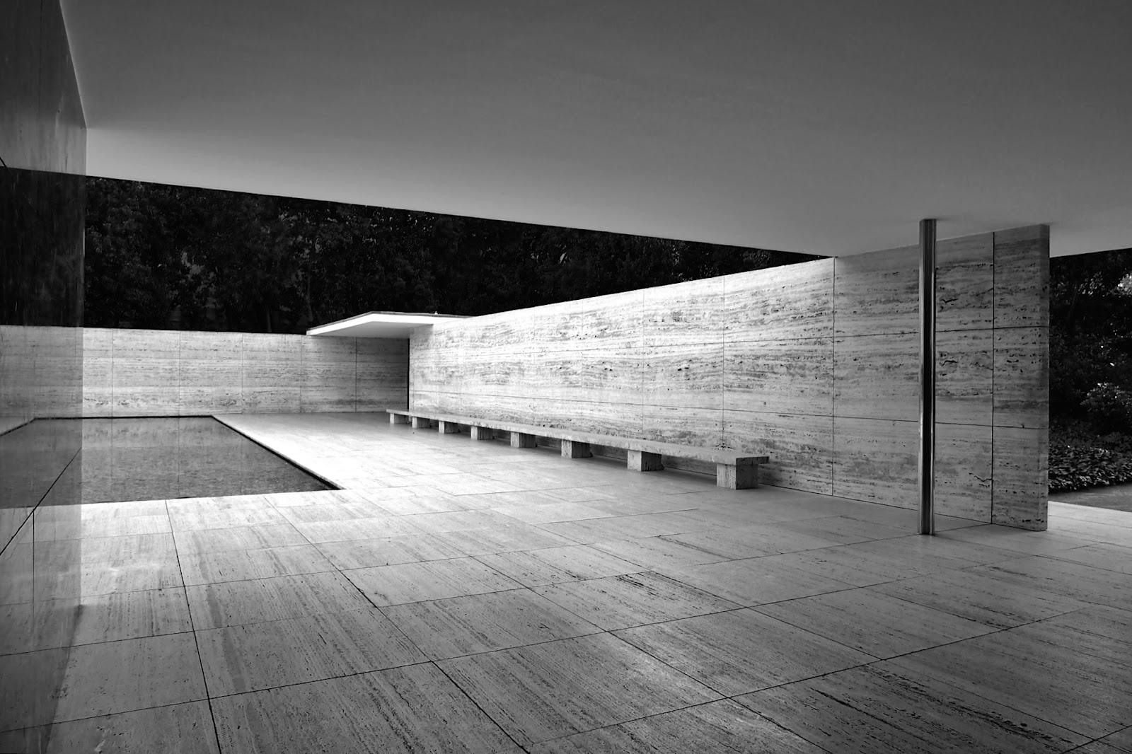 Barcelona pavilion exterior - Barcelona Pavilion Exterior 55