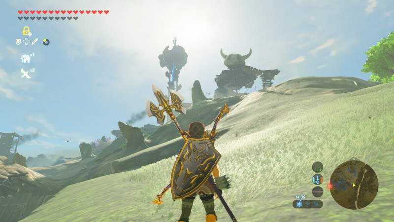 Activity Log Breath Of The Wild