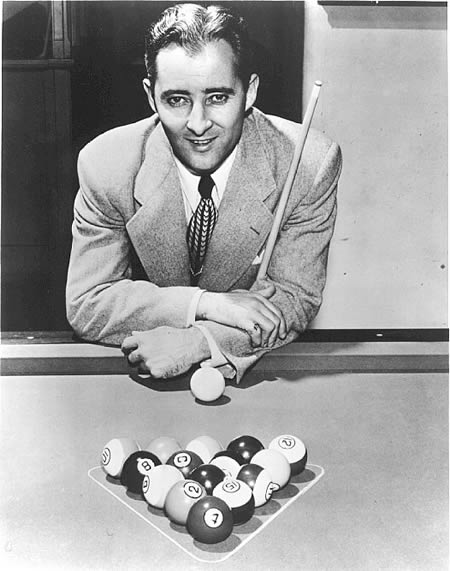Willie Mosconi: played professional Billiards at age 6