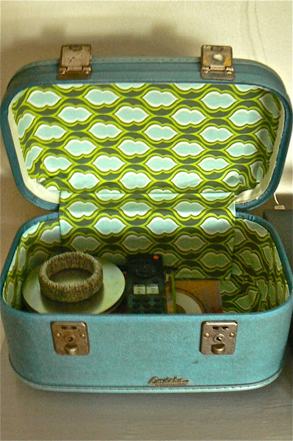 upcycled train case catch all