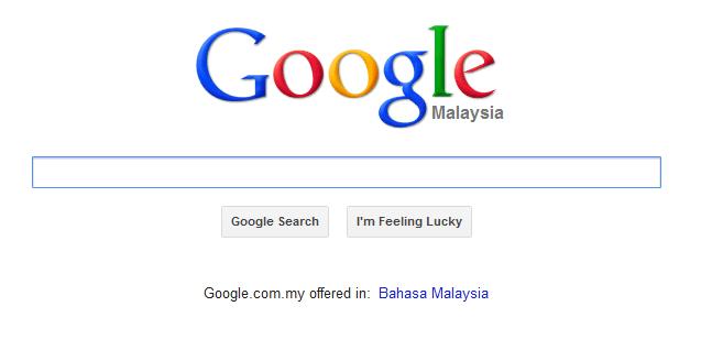 Top 10 Hasil Carian Google Malaysia 2012