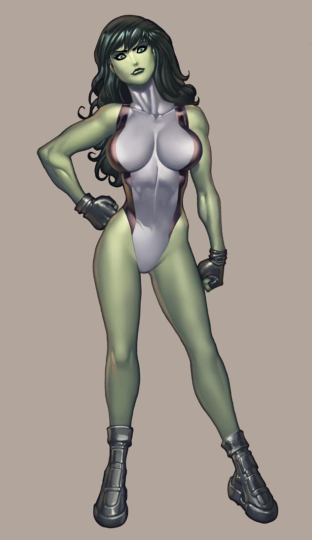 She--Hulk por RyanKinnaird