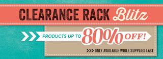 Clearance Rack Blitz at www.bekka.stampinup.net check it out and grab a bargain!