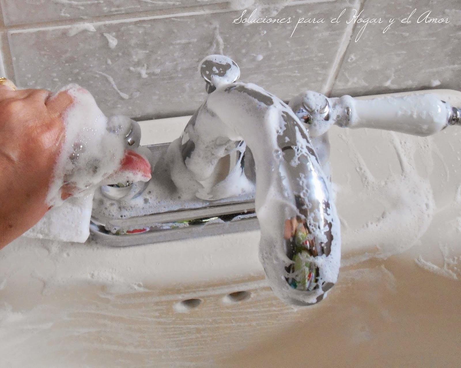 Otro uso para el Shampoo y el Gel de Baño, como limpiar el baño, como limpiar el lavamanos fácil