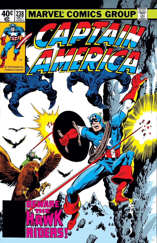 Captain America (1968) Issue #238 #153 - English 1
