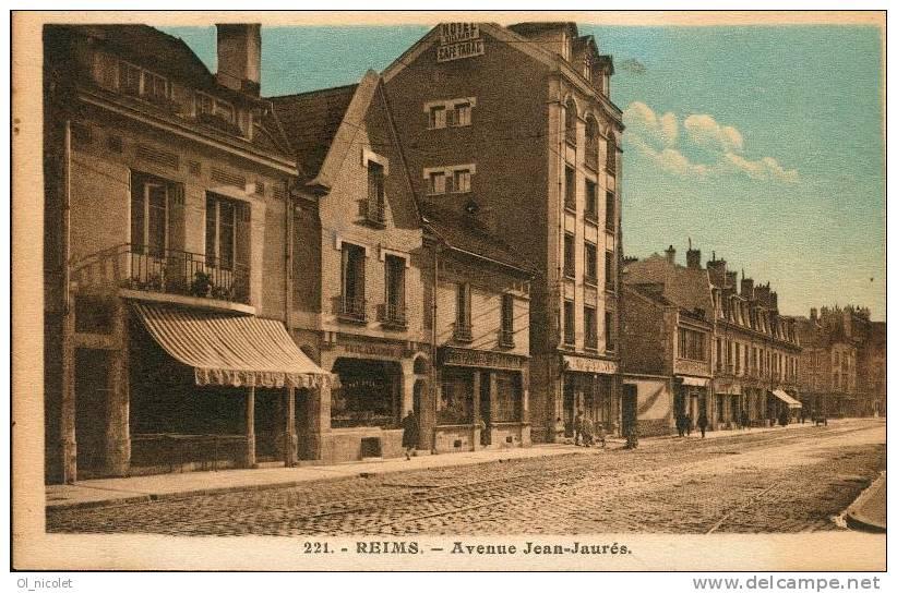 Histoires de reims avenue jean jaures for Garage bobigny avenue jean jaures