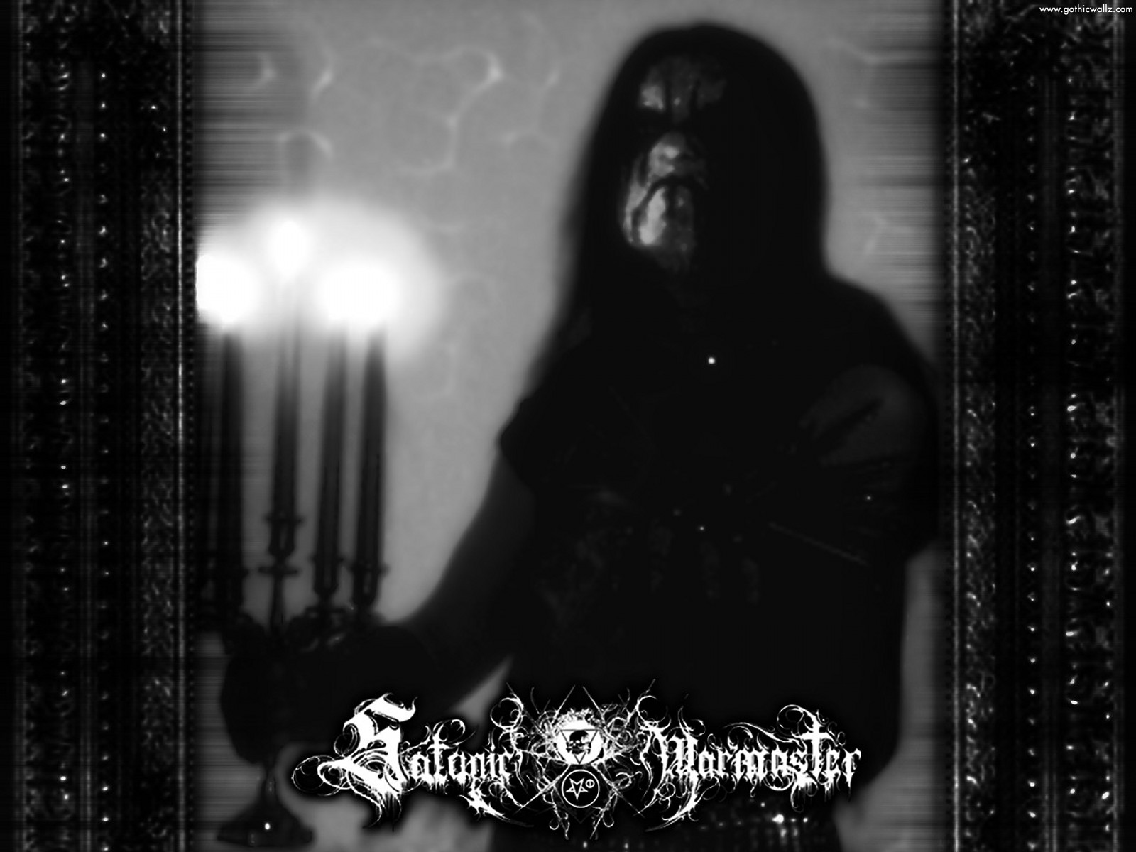 Satanic Warmaster | Gothic Wallpaper Download
