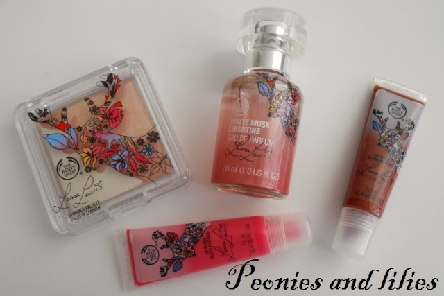 The body shop Leona lewis make up, The body shop Leona Lewis fragrance, The body shop Leona Lewis, The body shop deerlicious fuchsia lip gloss