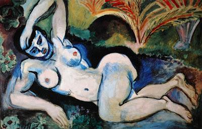 Henri Matisse -Nu bleu , souvenir de Biskra 1907