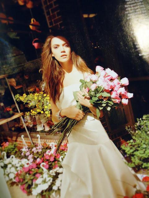 Brides Magazine: Vera Wang Gown