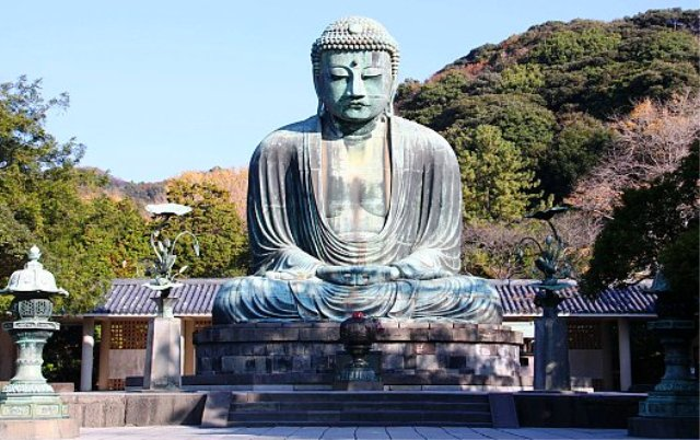 Tempat Wisata Terbaik di Jepang - Great Buddha Of Kamakura
