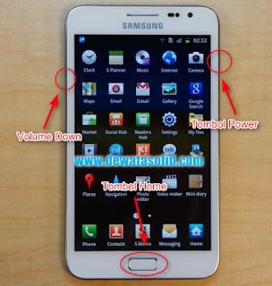 Cara Flashing Samsung Galaxy Note 1 GT-N7000