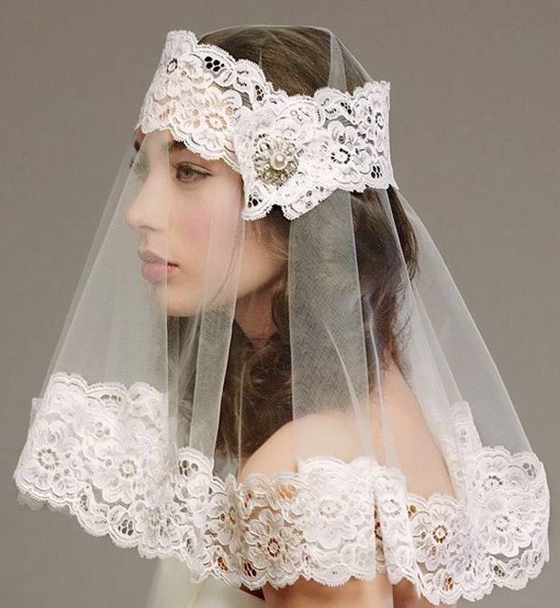My-Fancy-Bride Blog: Those Unique Bridal Headpieces