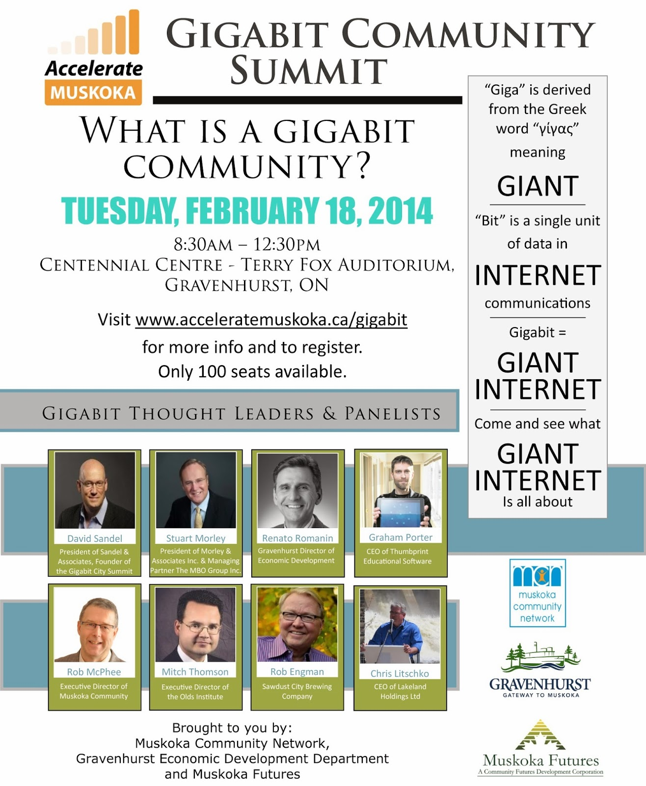 Gigabit Community Summit