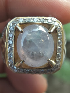 milky sapphire