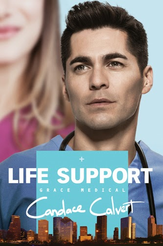 book review of Life Support by Candace Calvert (Tyndale House) by papertapepins
