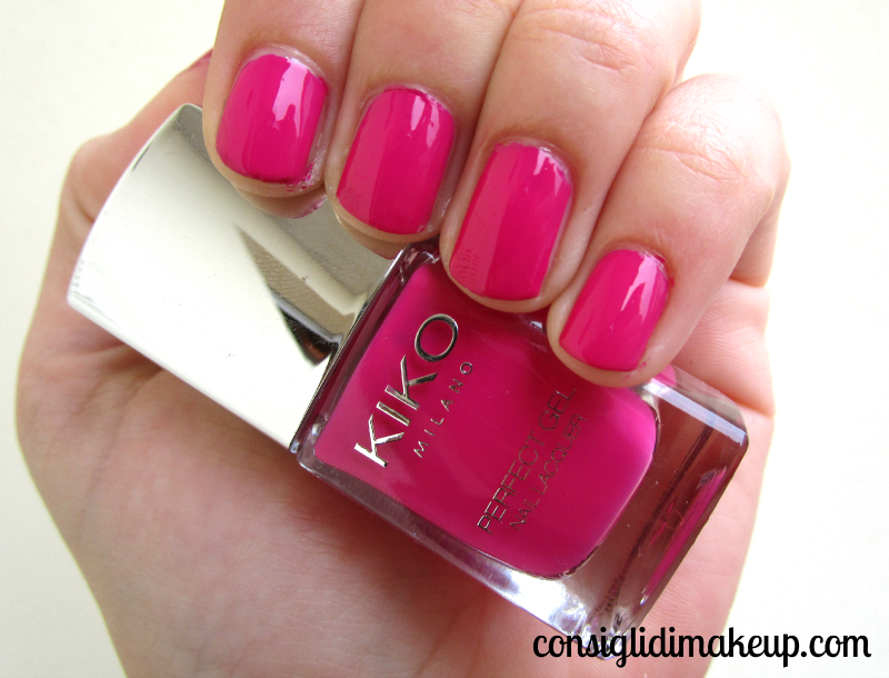 NOTD: Perfect Gel Duo 675 Pink Orchid - KIKO Cosmetics