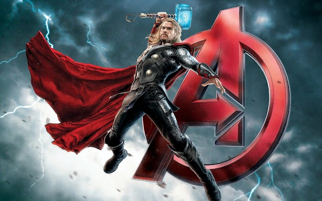 HD Thor Avengers Poster