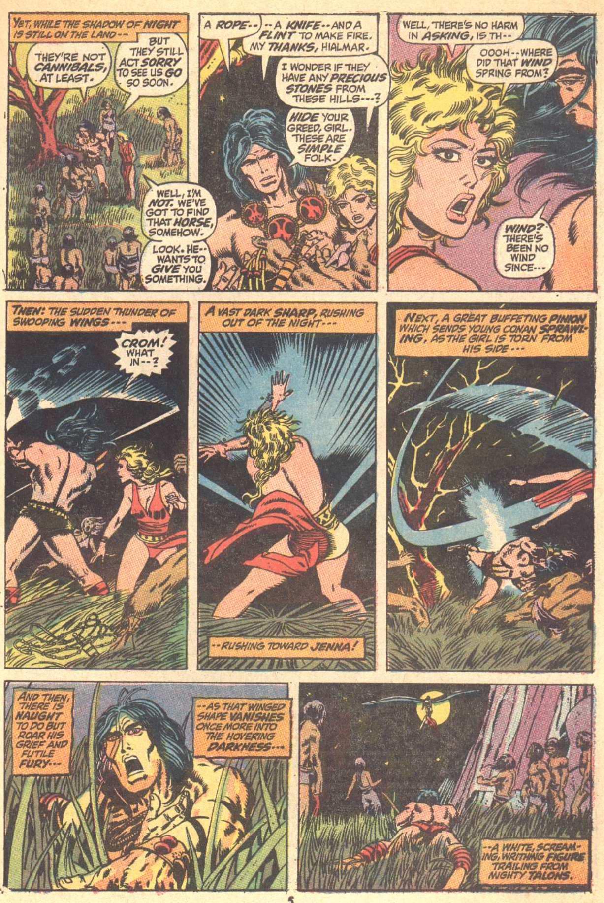 Conan the Barbarian (1970) Issue #9 #21 - English 5