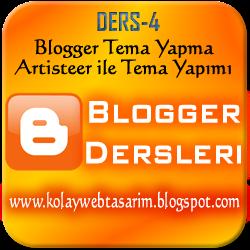 Programla Blogger Tema Yapma | Kendi Blogger Temanızı Yapın!