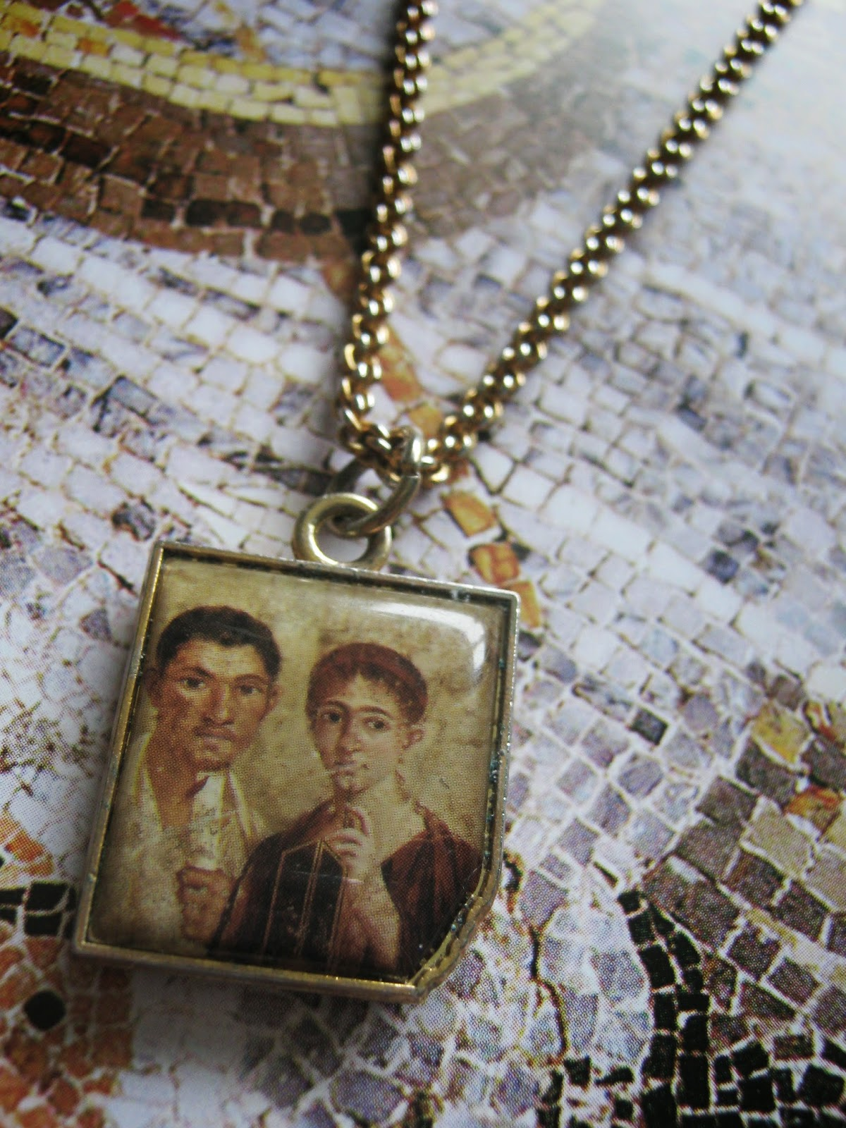 DIY Tutorial Roman Layered Necklace
