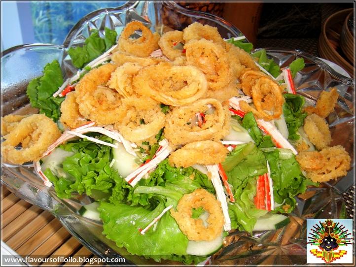 Crunchy Calamari Salad