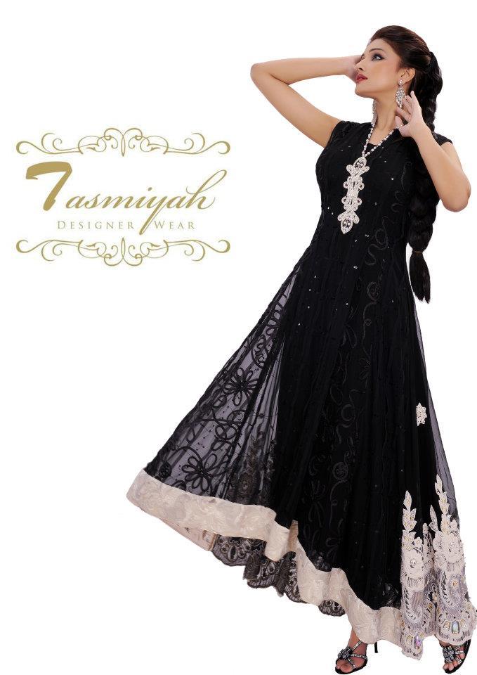 EmbroideredPishwasDresseswwwShe9blogspotcom252892529 - Tasmiyah Designer Collection Long Shirt in Pishwas