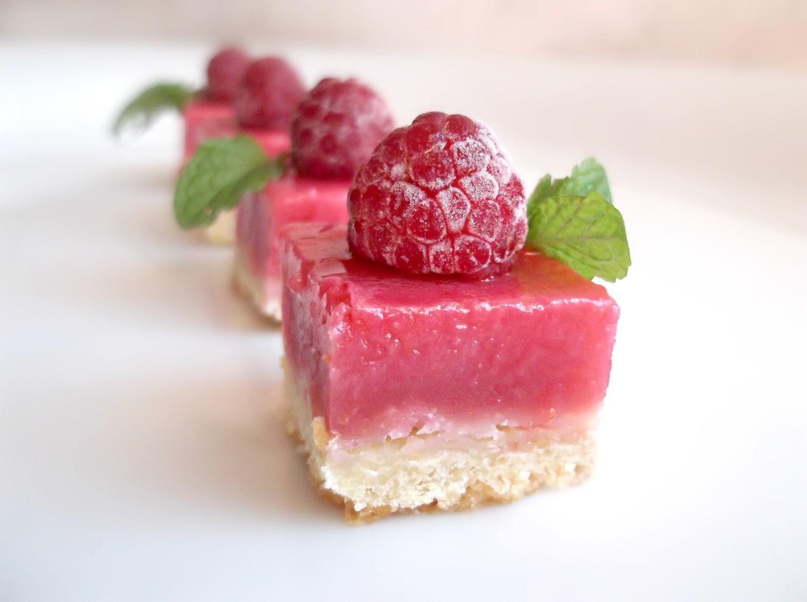 Raspberry Lemonade Slice