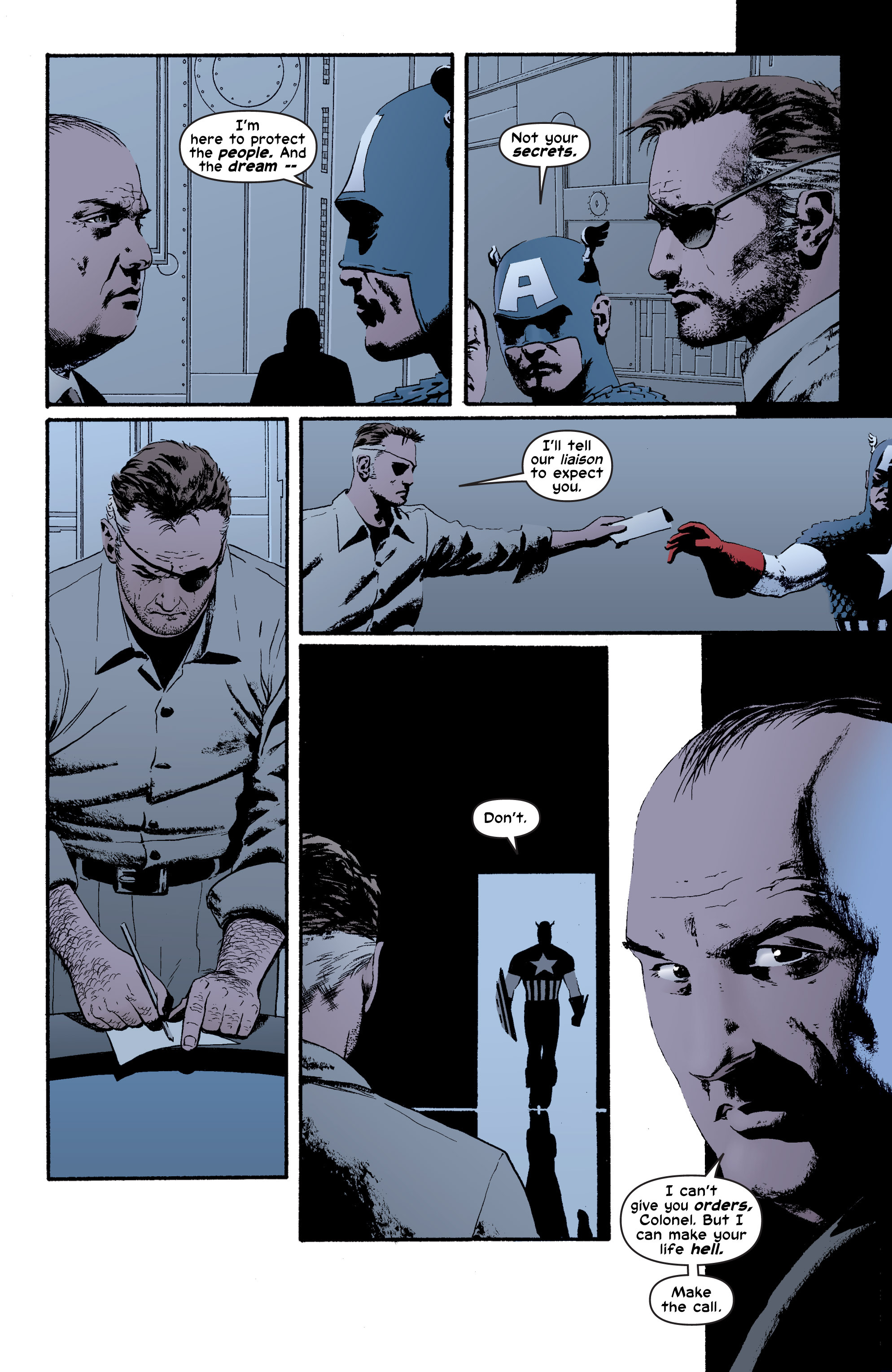 Captain America (2002) Issue #4 #5 - English 12