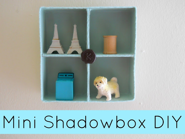 Mini Shadowbox DIY