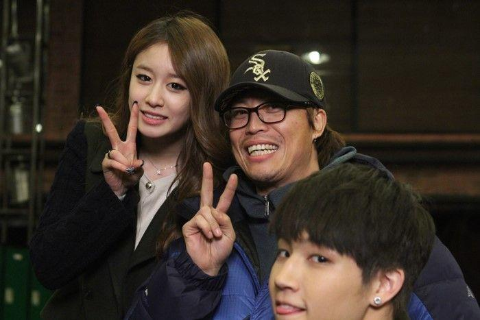T Ara Lovers T Ara Jiyeons Photos With The Cast And Crew