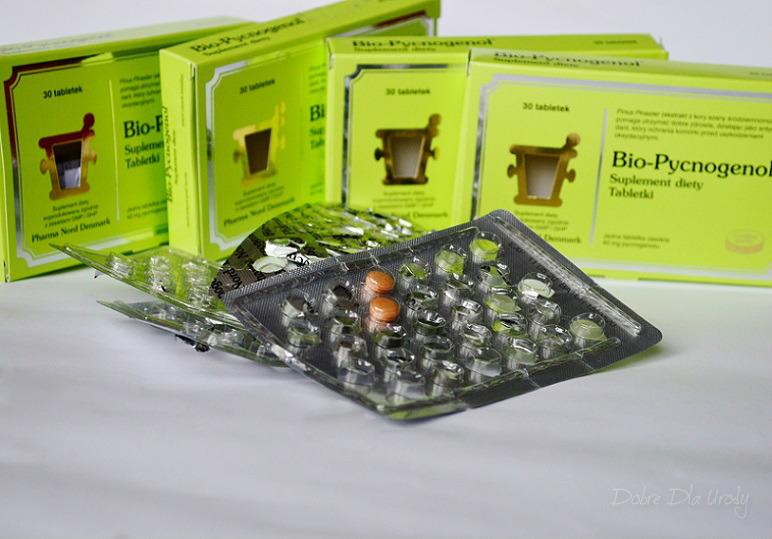 Pharma Nord suplement diety Bio-Pycnogenol - skuteczna walka z wolnymi rodnikami