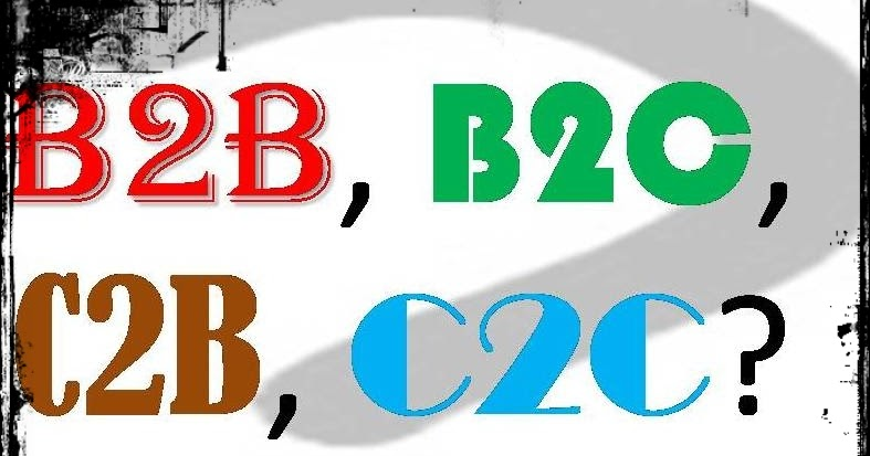 description of b2b b2c c2b c2c Give examples of b2b, b2c and c2c types of e-commerce b2b /business to business business to business mainly refers to commerce transactions between the businesses the examples of this can.