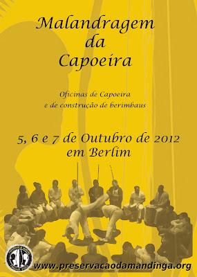 Das Capoeira-Treffen der Gruppe Preservação da Mandinga in Berlin