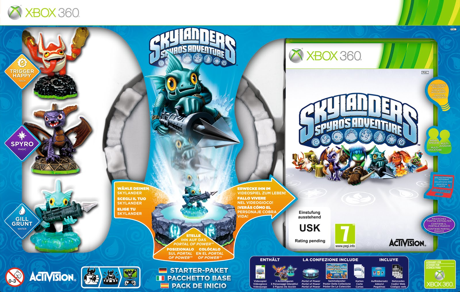 XBOX 360: Skylanders Spyros Adventure