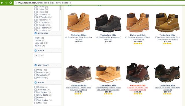 цены на детскую обувь сша