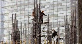Trabajadores de la construcción. efe
