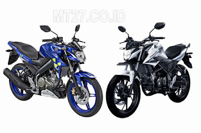 Perbandingan Yamaha Vixion Advance dan Honda CB150R StreetFire